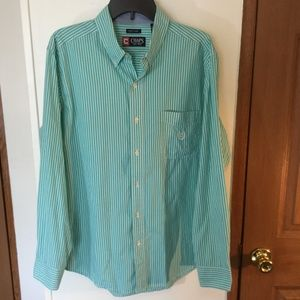 Chaps Shirts - Chaps  Size Large L/ Sleeve Button Down Shirt GUC